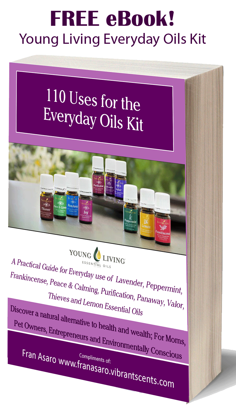 Young Living Essential Oils 110 Uses for Everyday Oil Kit