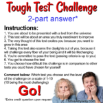 Tough Test Challenge Thrive Anyway Fran Asaro