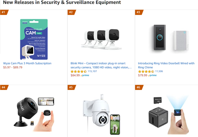 Whats new in home security amazon.com Thrive Anyway Fran Asaro