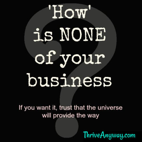 How is none of your business (1)